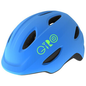 Giro Scamp MIPS Casque Enfant, matte blue/lime